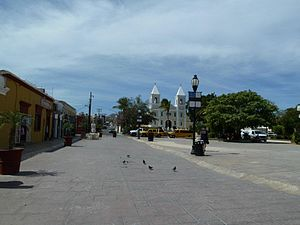 Municipalities of Baja California Sur - Image: Downtown San Jose del Cabo, BCS, Mexico, Feb 2012