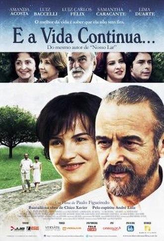 E a Vida Continua... - Brazilian theatrical poster