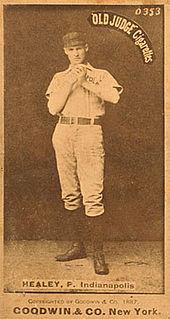 Egyptian Healy American baseball player