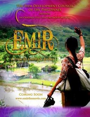 Emir (film) - The original promotional poster.