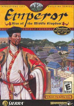 """Emperor: Rise of the Middle Kingdom"" Box Art"