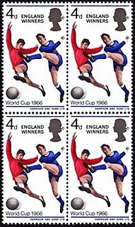 England Winners stamp