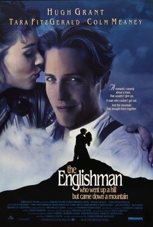 The Englishman who Went up a Hill but Came down a Mountain - Theatrical release poster