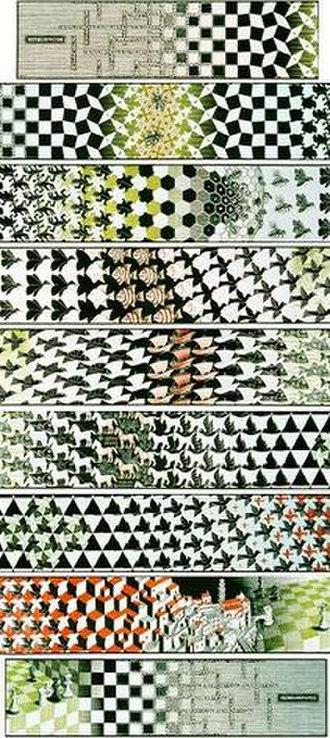 Metamorphosis III - Image: Escher, Metamorphosis III