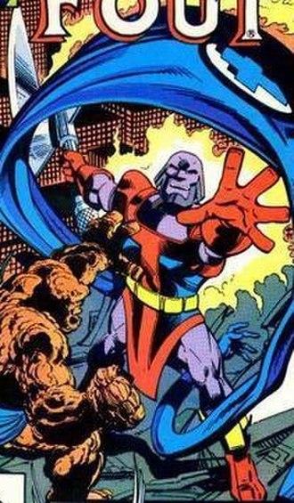 Terrax - Image: Fantastic Four 242