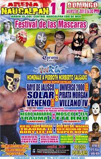 Festival de las Máscaras (2013) 2013 International Wrestling Revolution Group event