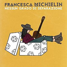 Francesca Michielin - Nessun grado di separazione - Single cover.jpg