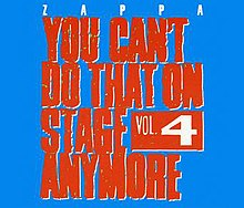 Frank Zappa, You Can't Do That On Stage Anymore 4.jpg