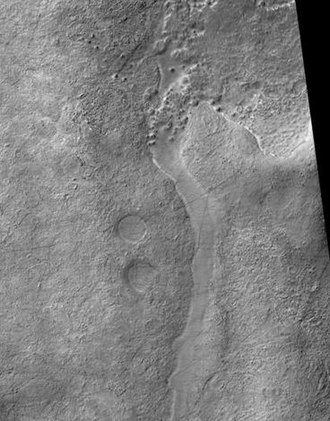 Noachis quadrangle - Image: Frento Vallis