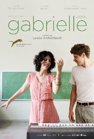 Gabrielle (2013 film) - Film poster