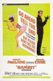 Gambito (1966 filmo) poster.jpg