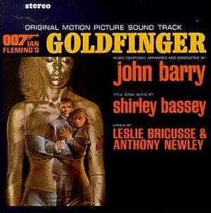 Goldfinger (soundtrack) - Image: Goldfinger OST