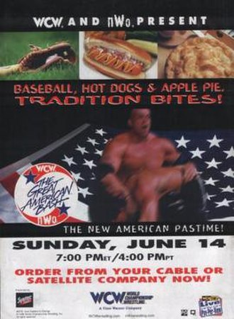 The Great American Bash - Promotional poster