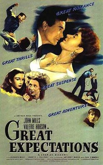 Great Expectations (1946 film) - Theatrical release poster