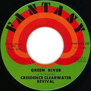 Green River (song) - Image: Green River label