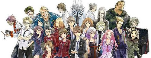 List Of Guilty Crown Characters