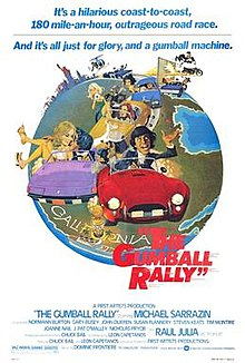 The Gumball Rally movie
