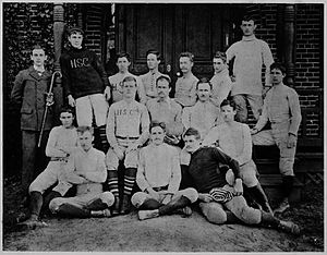 1892 Hampden–Sydney Tigers football team - Image: HS Cfootball 1892