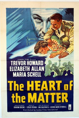 The Heart of the Matter (film) - Film poster