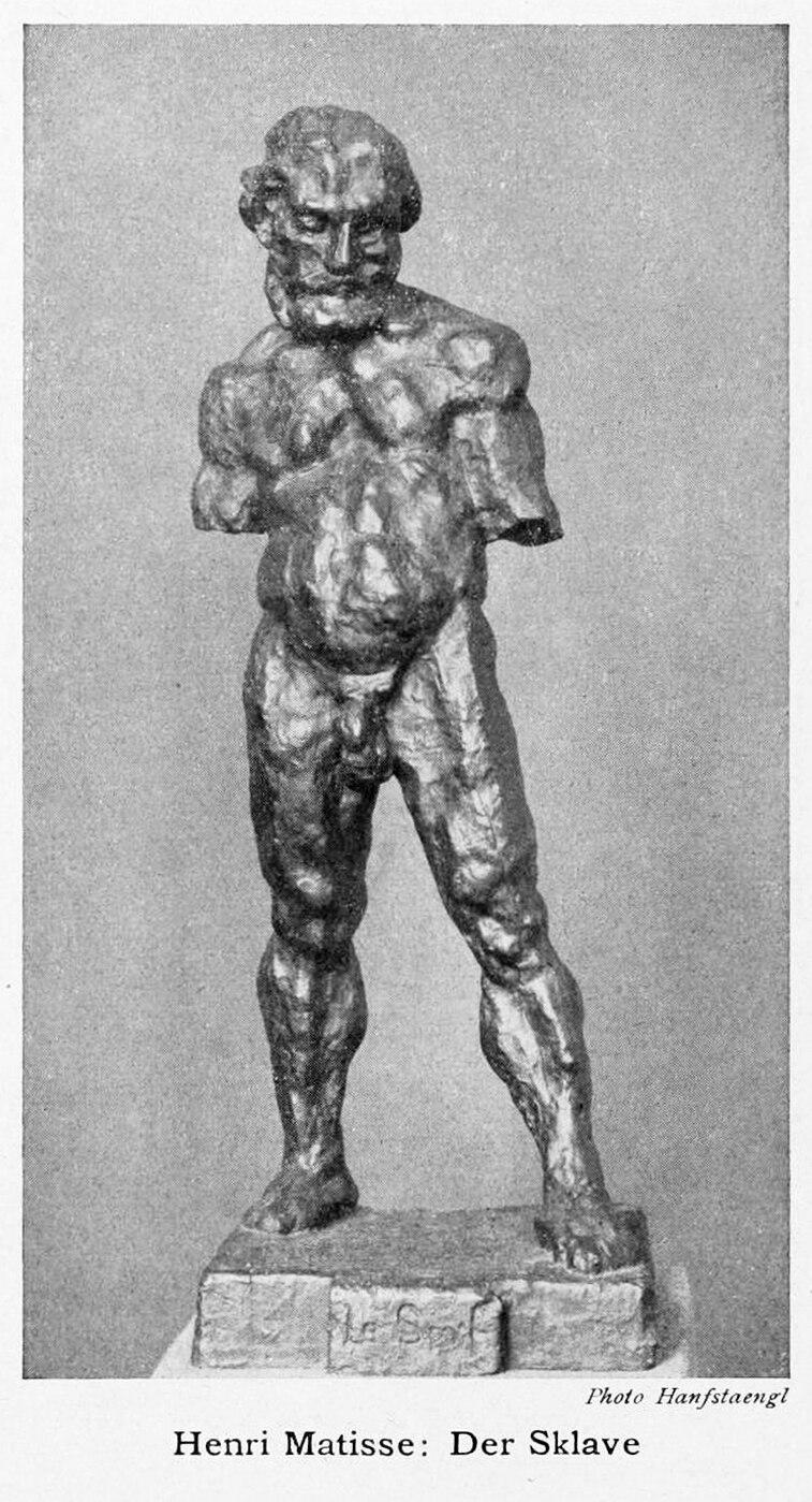 Henri Matisse, 1900-1904, Le Serf (The Serf, Der Sklave), bronze