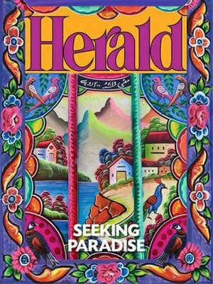Herald (Pakistan) - Cover of the May 2016 Herald