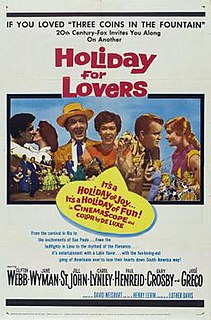 <i>Holiday for Lovers</i> 1959 film by Henry Levin