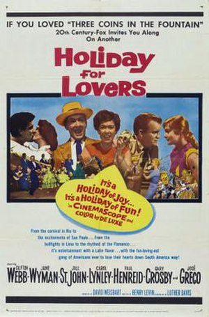 Holiday for Lovers - Theatrical poster