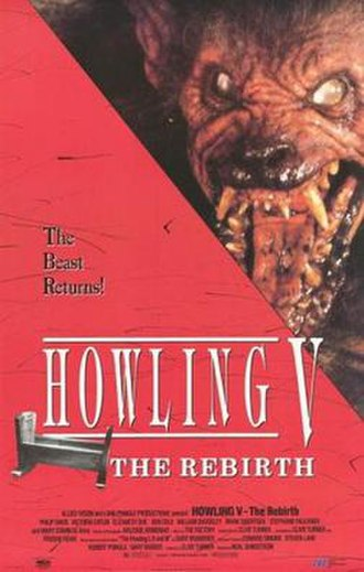 Howling V: The Rebirth - Image: Holwing v. The Rebirth