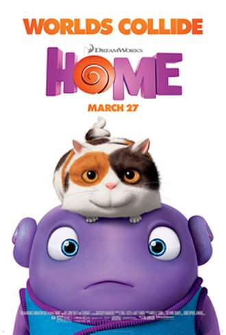 Home (2015 film) - Theatrical release poster