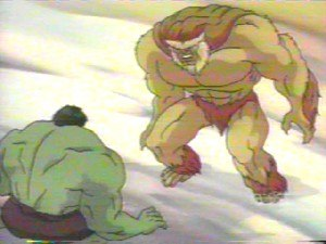 Sasquatch (comics) - Sasquatch and Hulk in ''The Incredible Hulk''