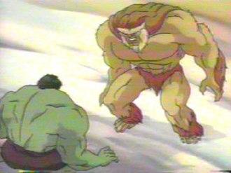 Sasquatch (comics) - Sasquatch and Hulk in ''The Incredible Hulk''