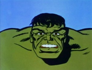 The Marvel Super Heroes - One depiction of the Hulk in The Marvel Super Heroes
