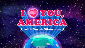I Love You, America with Sarah Silverman - Image: Hulu ILYA Logo