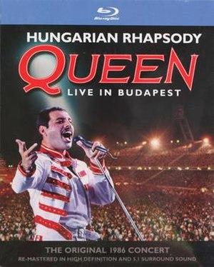 Hungarian Rhapsody: Queen Live in Budapest - Image: Hungarian rapsody blu ray