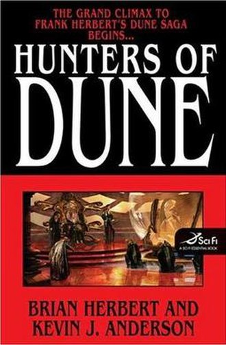 Hunters of Dune - First edition cover