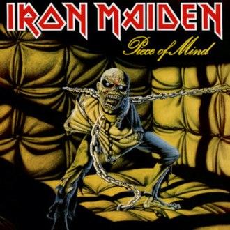 Piece of Mind - Image: Iron Maiden Piece Of Mind