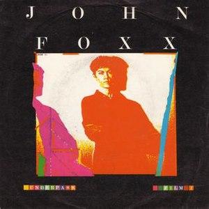 Underpass (song) - Image: J Foxx Underpass single