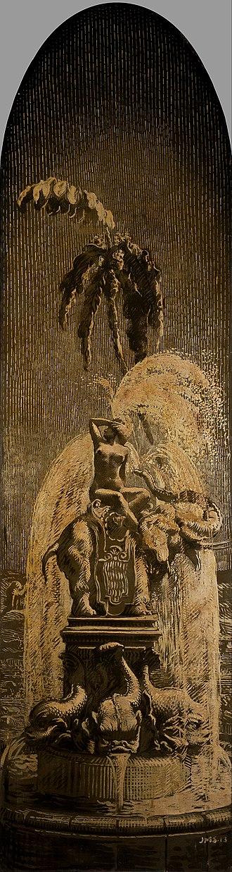Josep Maria Sert - Image: Josep Maria Sert The Elephant Fountain Google Art Project