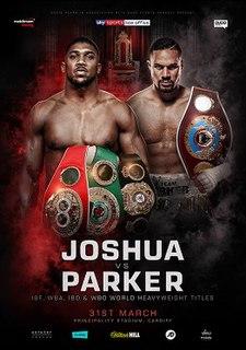 Anthony Joshua vs. Joseph Parker Boxing competition