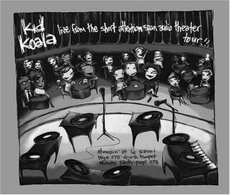 Live from the Short Attention Span Audio Theater Tour!! - Image: Kid Koala Short Attention Span albumcover