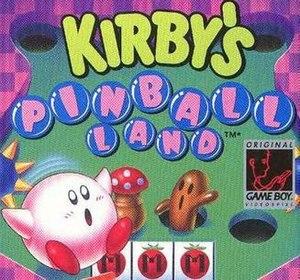 Kirby's Pinball Land - Cover art