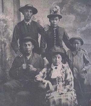 Little Traverse Bay Bands of Odawa Indians - Image: LTBB Odawa family