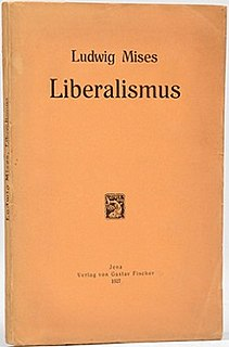 book by Ludwig von Mises