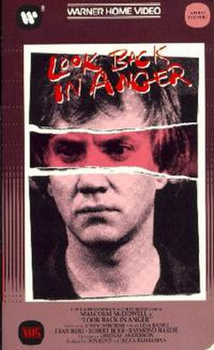 Look Back in Anger (1980 film) - Image: Look Back in Anger DVD cover