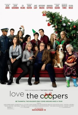 Love the Coopers - Theatrical release poster
