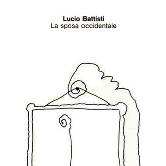 La sposa occidentale - Image: Lucio Battisti La sposa occidentale (CD cover)