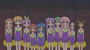 List Of Lucky Star Characters Wikipedia