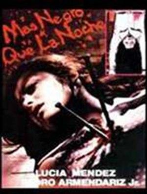 Blacker Than the Night - DVD cover
