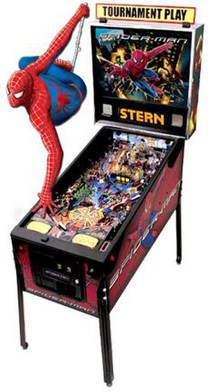 Spider-Man (pinball) - Image: M Spider Man game