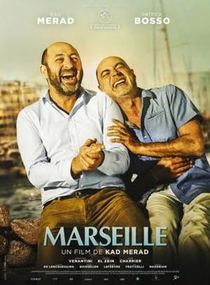 Marseille (2016 film) - Theatrical release poster